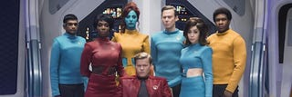 """Illustration for article titled Black Mirror 4x01 - """"USS Calister"""" Spoilerrific Discussion"""