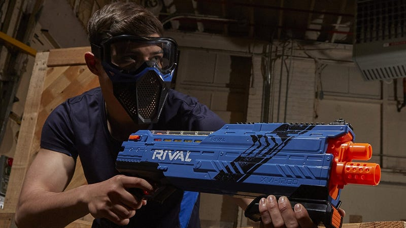 Nerf Rival Atlas XVI-1200 Blaster, $20 | Also available in red.