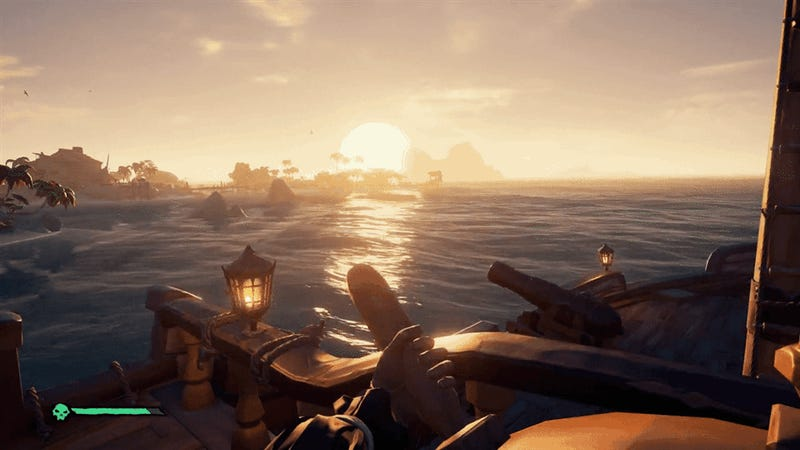 On The Sea Of Thieves, I Only Sail Alone