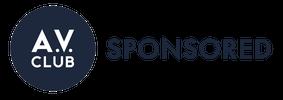 A.V. Sponsored logo