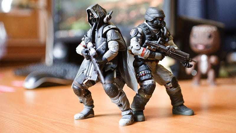 Illustration for article titled These Killzone Action Figures Are As Gray As You'd Expect