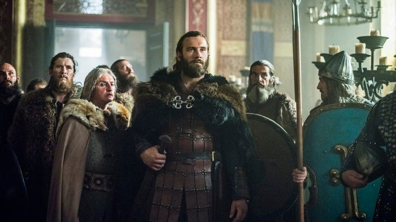 Frankie McCafferty, Clive Standen (History Channel)