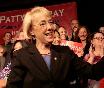 Illustration for article titled Patty Murray Wins, Lisa Murkowski Acts Like She Did Too