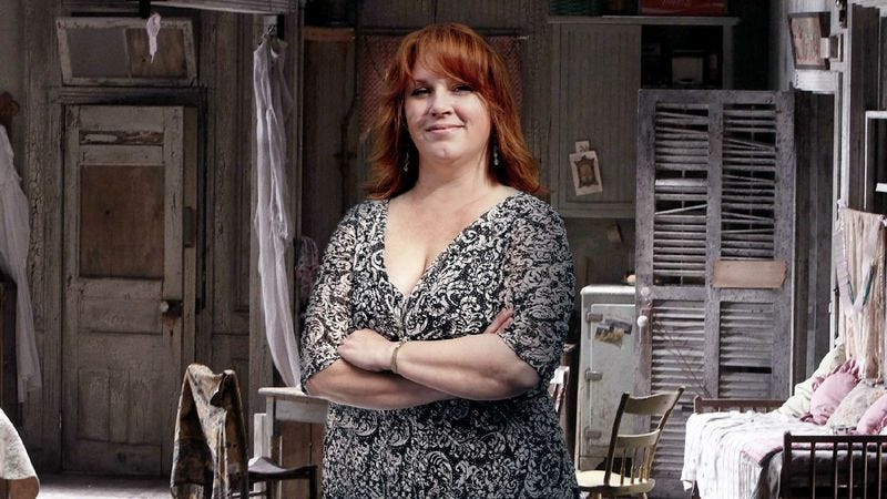 Sources are still at a loss as to how Kathy Hamilton—yes, the Kathy Hamilton who can't get off book to save her life—landed the female lead in Streetcar.
