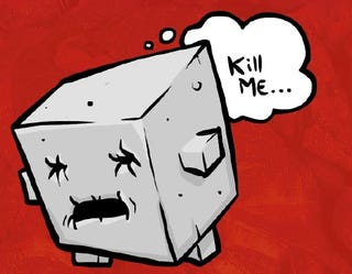 Illustration for article titled Super Meat Boy's Last Laugh On PETA Is PC-Playable Tofu Boy