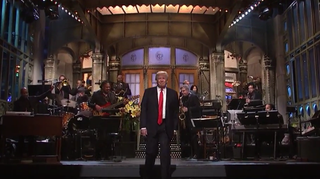 Donald Trump hosts Saturday Night LiveNBC Screenshot