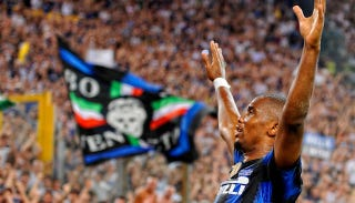 Illustration for article titled Samuel Eto'o Will Leave Inter Milan For Obscure Russian Club (And Billions Of Rubles)