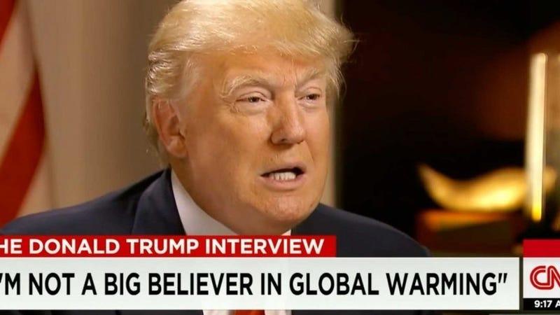 Resultado de imagen de donald trump global warming