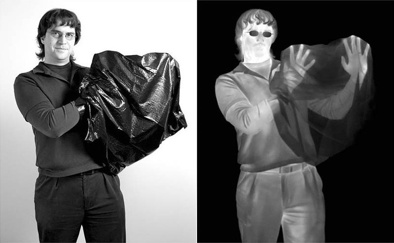Illustration for article titled Infrared Astronomy Defeats Trash Bags But Finds Glasses Challenging