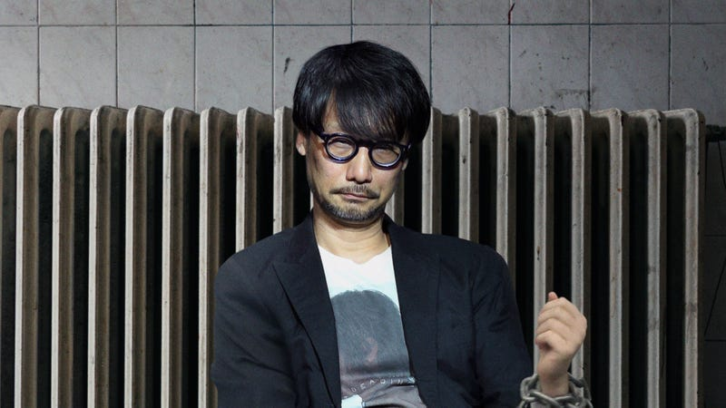 Illustration for article titled We Imprison Hideo Kojima In An Interview Room Until He Breaks Down And Admits He's Just Making Shit Up As He Goes Along