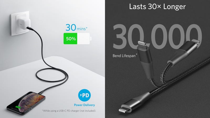 Anker PowerLine+ II USB-C to Lightning Cable | $16 | Amazon | Promo code ANKERC2L