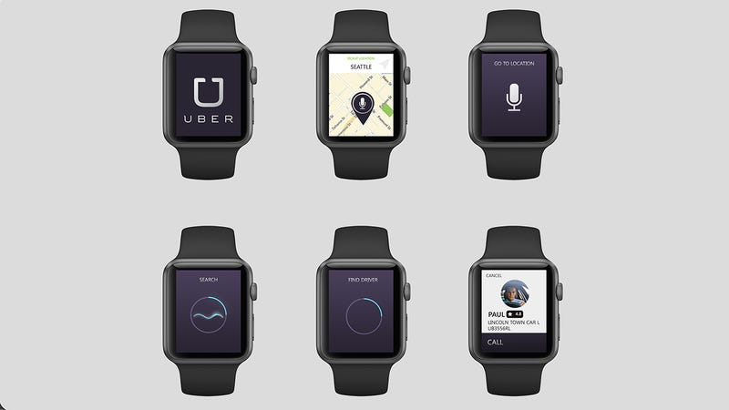 Illustration for article titled These Concepts Show What Apple Watch Apps Will Look Like