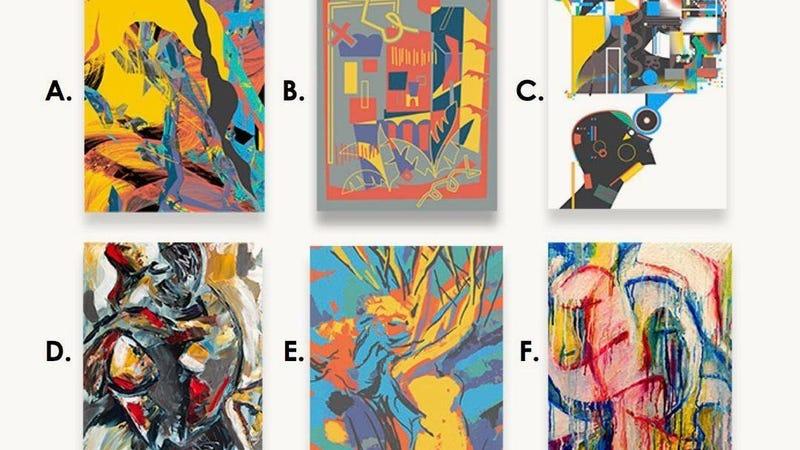 ¿Cuál de estos cuadros fue creado por una IA?