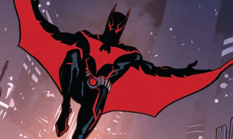Illustration for article titled The Geek Empress Reviews: Batman Beyond Rebirth: Escape from the Grave