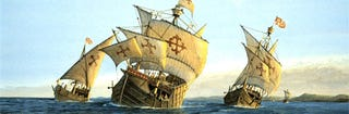Illustration for article titled Archaeologists may have found the wreck of Columbus' Santa Maria