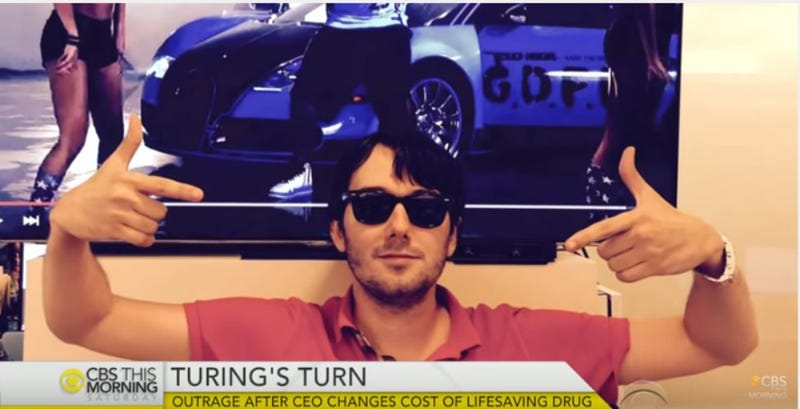 Illustration for article titled Nation Reaches Rare Consensus: Martin Shkreli Getting Arrested Is Good