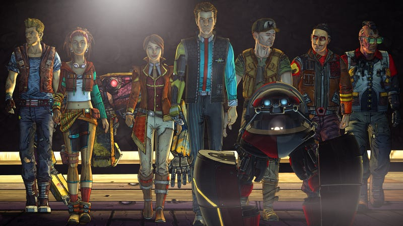 Illustration for article titled Here Is A Thing That Happens In The New Tales From The Borderlands Episode