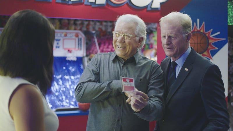John Larroquette (left), Ed Begley Jr. (Photo: Ron P. Jaffe/CBS)