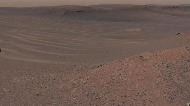 Supersalty Water Could ve Erased Some Evidence of Life on Mars