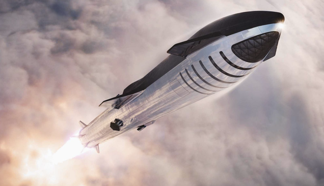 SpaceX Will Try to 'Catch' Its Starship Boosters Instead of Landing Them
