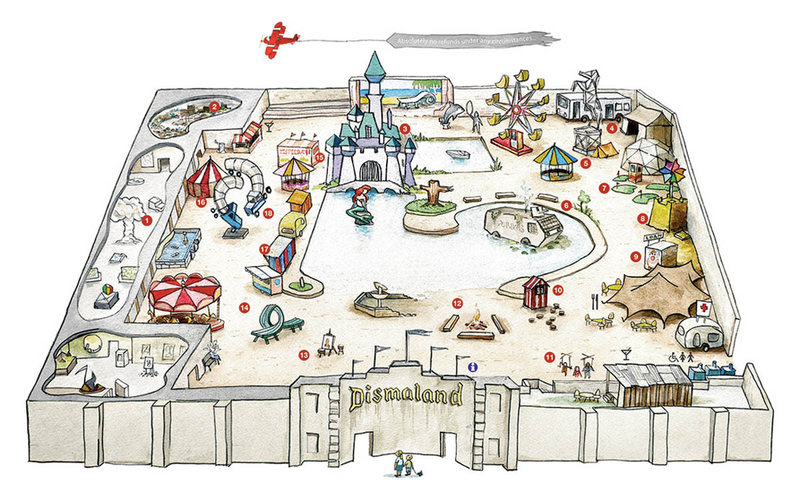 Illustration for article titled Welcome to Dismaland