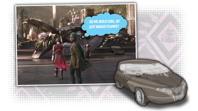 Illustration for article titled How The Technology In Black Panther Could Create An Amazing Car