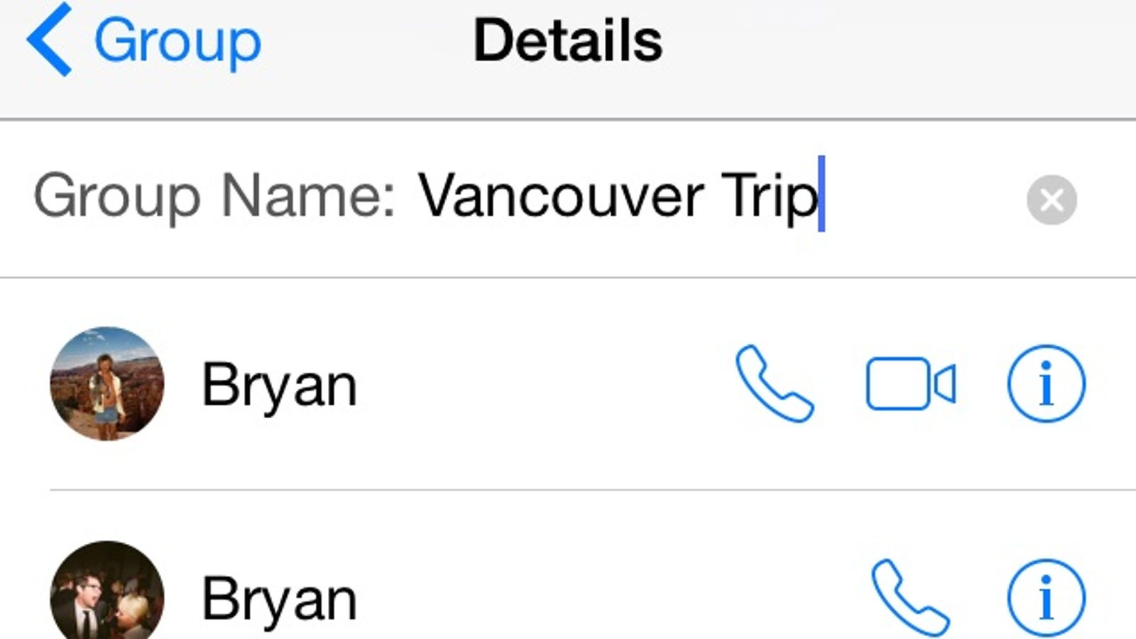 Keep Group Messages Organized on iOS By Naming Them