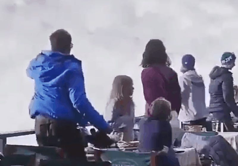 That Viral Video of a Family Fleeing an Avalanche is Totally Fake