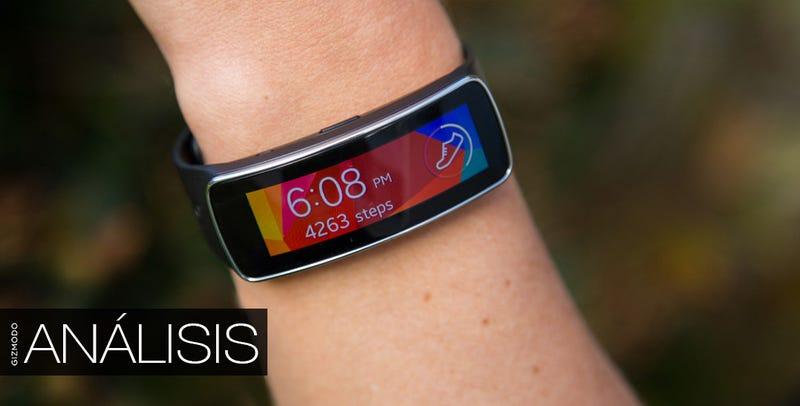 Samsung Gear Fit, análisis: un gran medidor arruinado por el software