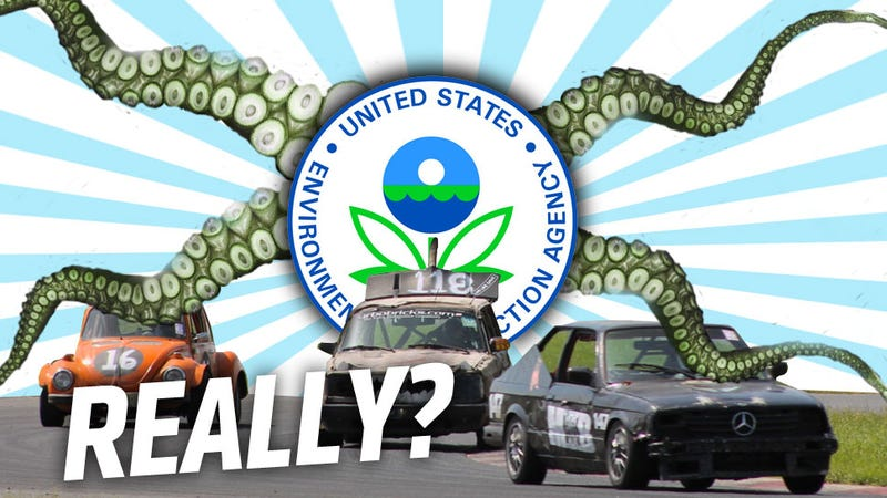 Illustration for article titled All The Contradictions And Confusion We Found In The Possible EPA Track Car Ban
