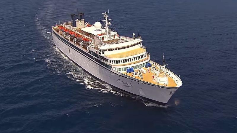 Illustration for article titled Un crucero de la Cienciología con 300 personas a bordo está detenido y en cuarentena por un caso de sarampión