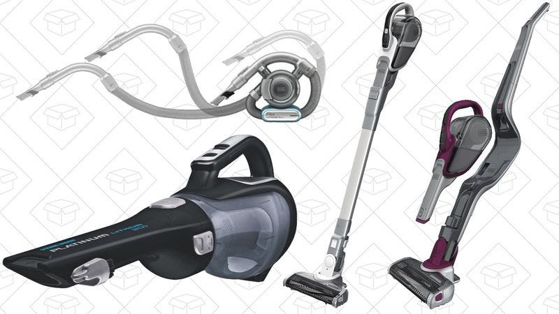 Illustration for article titled Today's best deals: Cordless vacuums, packing cubes, and more
