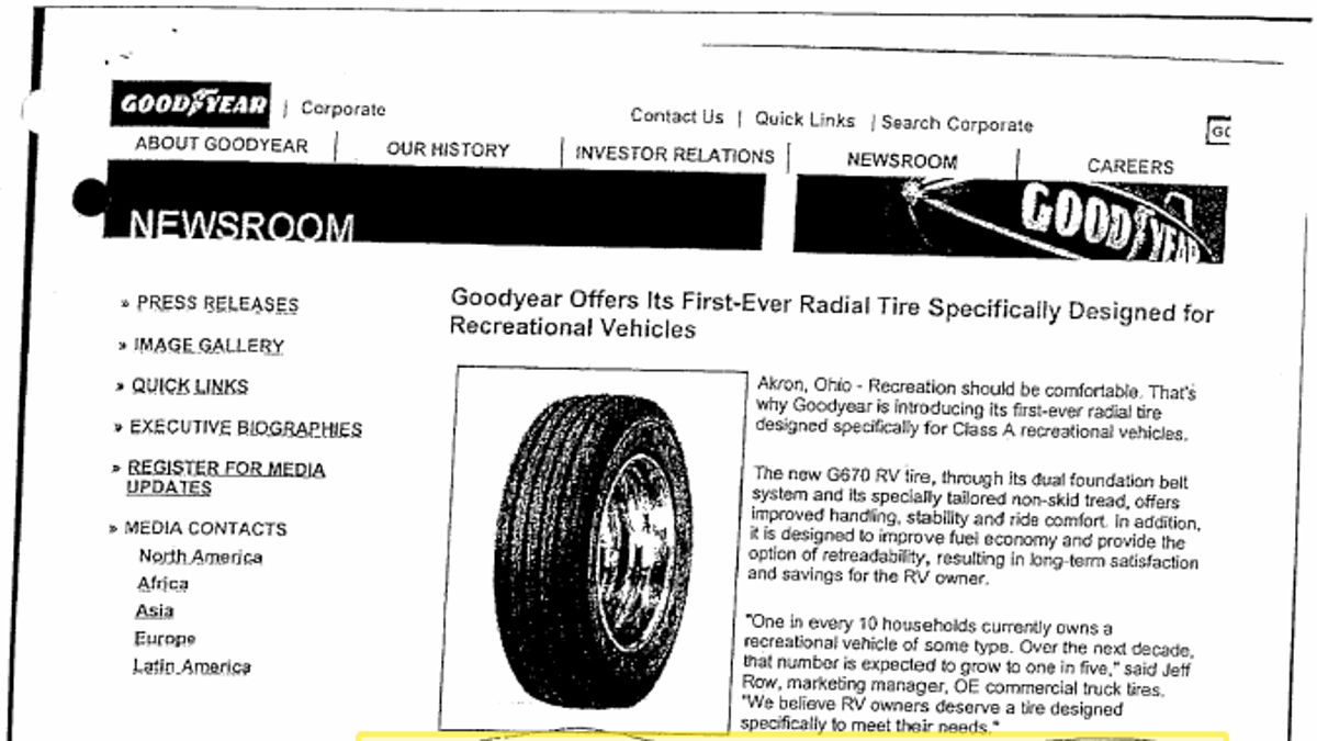 How Goodyear Hid Evidence Of 'The Worst Tire Made In History