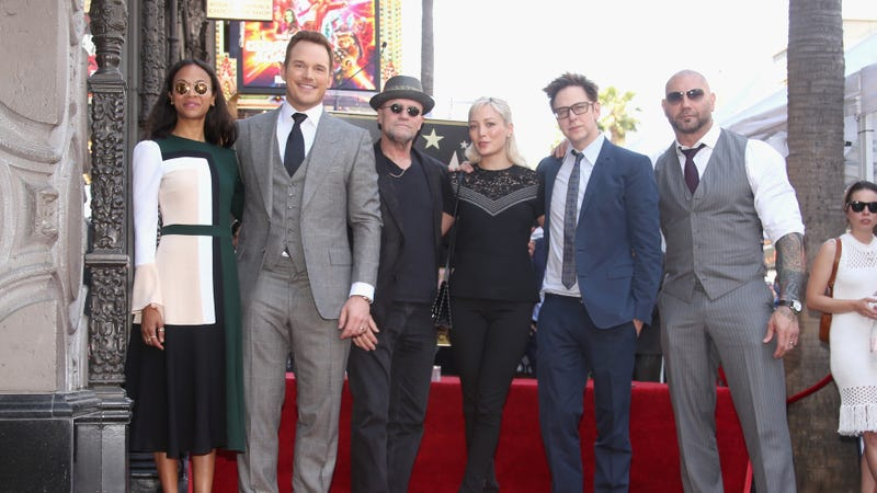 Illustration for article titled Guardians Of The Galaxy cast releases new statement of support for James Gunn