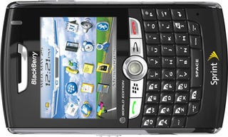 Illustration for article titled BlackBerry 8830? Yeah, Sprint's Getting One Too. And it's Black