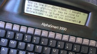 Use an Old, Cheap Word Processor as a Distraction-Free Writing Tool