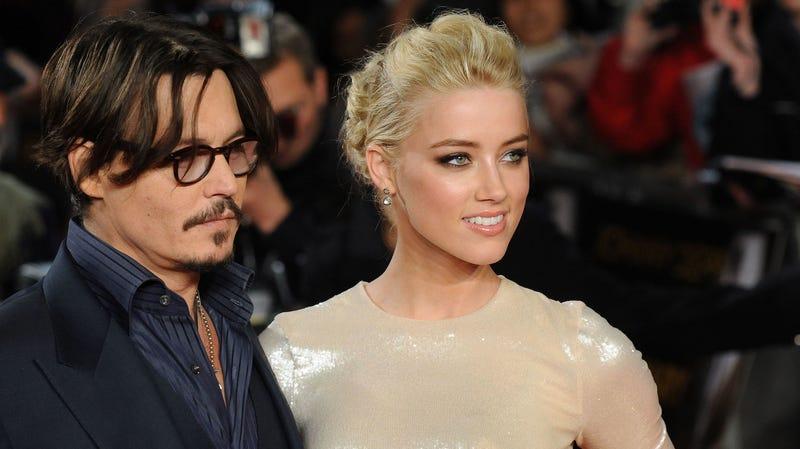 Heard and Depp in 2011.