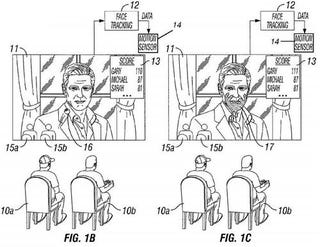 Illustration for article titled Sony's Crazy Interactive TV Patent Lets You Throw Tomatoes at Actors