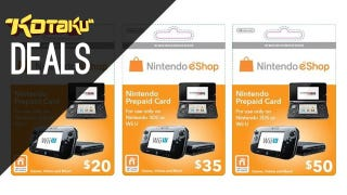 Illustration for article titled eShop Credit, Deals On The Most Popular Games Of 2013 [Deals]