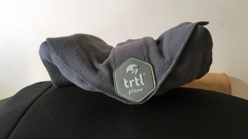 The Trtl Pillow Is A Perfect Travel Pillow For People Who
