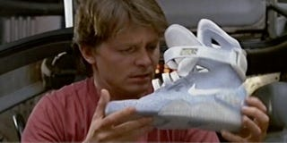 Illustration for article titled Nike's Back to the Future Sneaker Patents Discovered After 26 Years