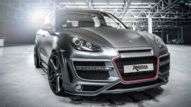 The RegulaExclusive Porsche Cayenne Looks Like A Fake Future Movie Car
