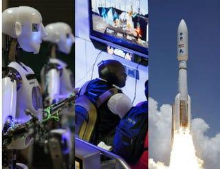 Matt Cardy/Getty Images; Kevork Djansezian/Getty Images; Bill Ingall/NASA via Getty Images