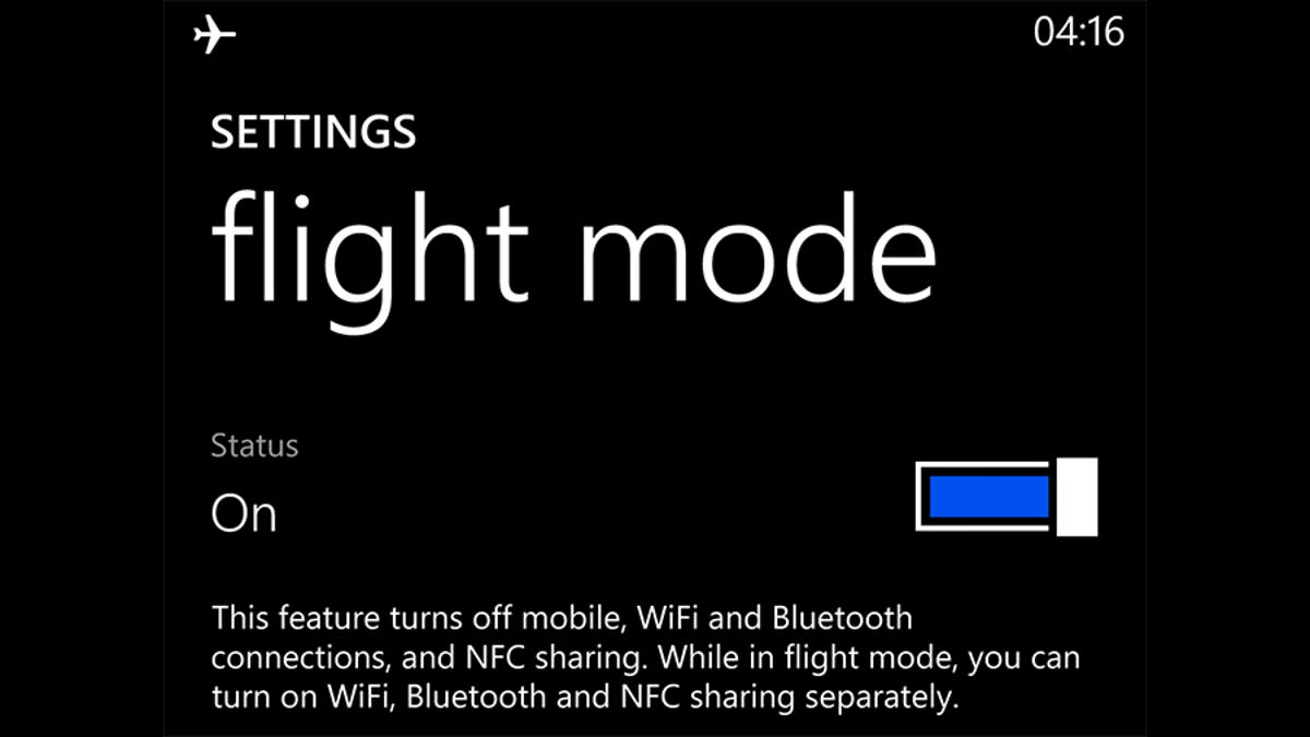 Three Uses For Airplane Mode That Don't Involve Flying