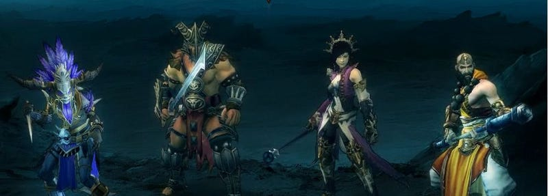 Illustration for article titled Korean Diablo III Site Reveals Fourth Character Class