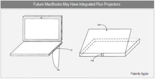 Illustration for article titled Apple Patent Reveals MacBook Pro Pico Projectors