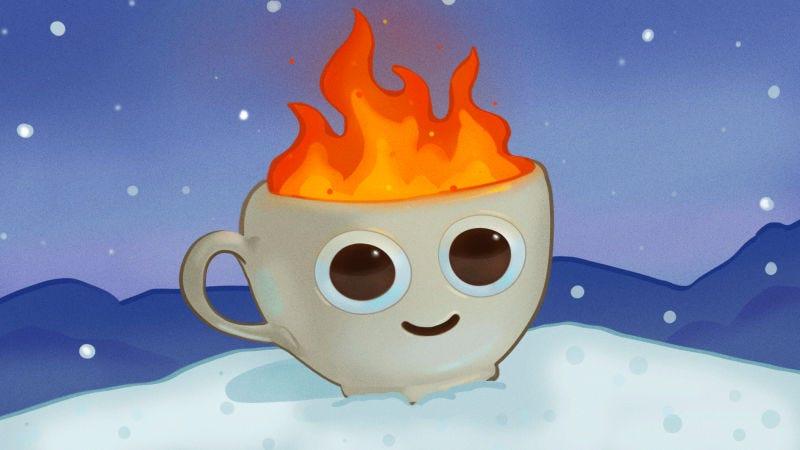 Illustration for article titled Tomar bebidas calientes ayuda a refrescarnos: esto es lo que dice la ciencia sobre el popular mito