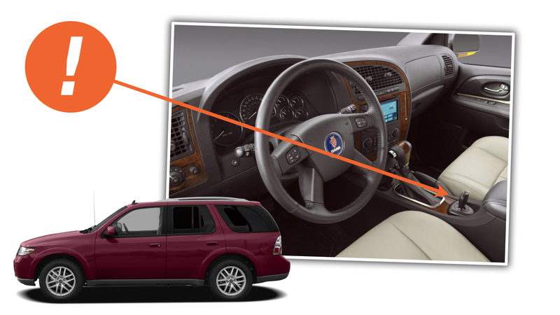 Illustration for article titled Putting A Floor-Mounted Ignition Switch On The Saab 9-7X Didn't Make It A Real Saab