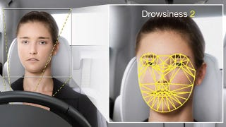 Illustration for article titled Driver Drowsiness Checker Watches Your Facial Muscles Instead of Your Eyes