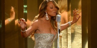 Mariah Carey performs during the 2013 BET Awards in Los Angeles. (Mark Davis/Getty Images/BET)